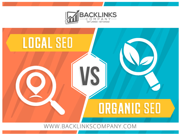 Local SEO and Organic SEO